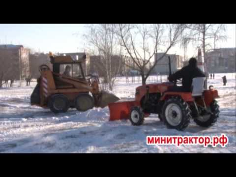 Отвал передний на трактор Уралец