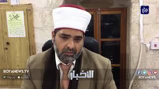 أداء صلاة الفجر في المسجد الأقصى المبارك بعد إعادة فتح أبوابه - (13-3-2019)