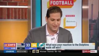 What was your reaction to the Dolphins walk-off win? | Good Morning Football Today