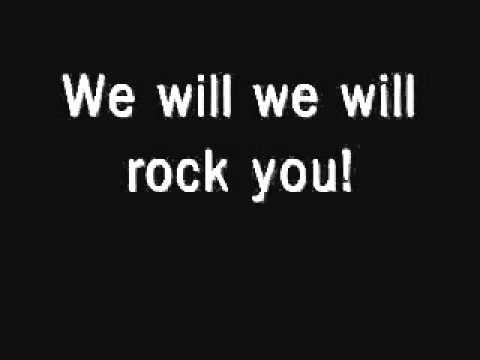 we will rock you by QUEEN İngilizce Sözleri