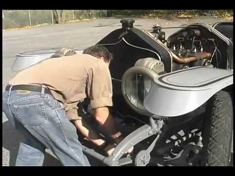 National 1912 , behind the scenes of demo day 2011, Official Simeone Automotive Museum Video