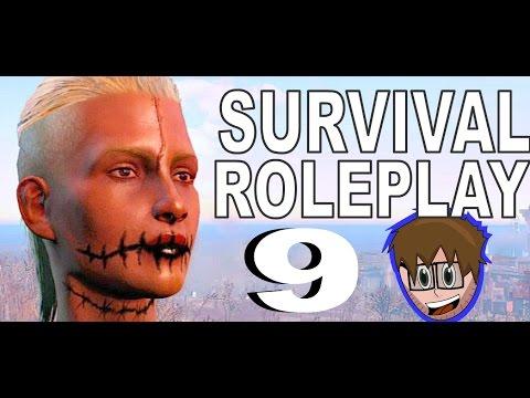 Fallout 4 Roleplay Survival: Sarcastic Raider: Commando & Demolition Build: Boston Library 9
