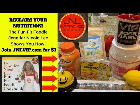 "RECLAIM YOUR NUTRITION! The ""Fun Fit Foodie"" Jennifer Nicole Lee of JNLVIP.com Shows You How!"