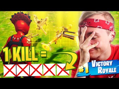 1 KILL = HELE INVENTORY LEGEN! - Fortnite: Battle Royale Nederlands