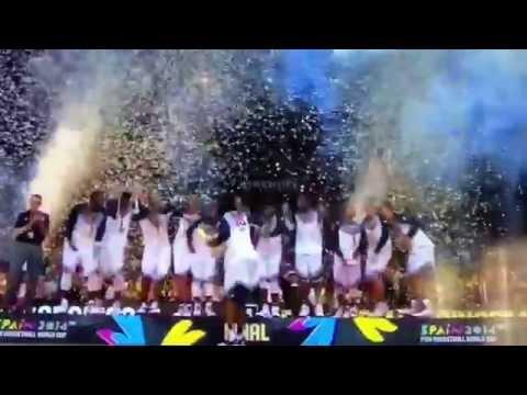 Team USA FIBA World Cup Shmoney Dance