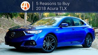 2018 Acura TLX | 5 Reasons to Buy | Autotrader
