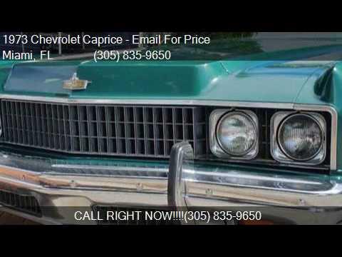 1973 Chevrolet Caprice Convertible for sale in Miami, FL 331