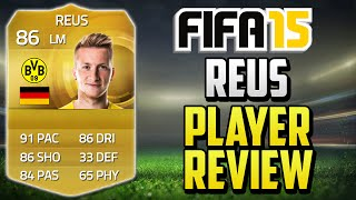 Fifa 15 Reus Player Review 86 W In Game Stats Gameplay Fifa 15 Player Review