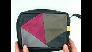 Tech pouch Dorus patchwork colour