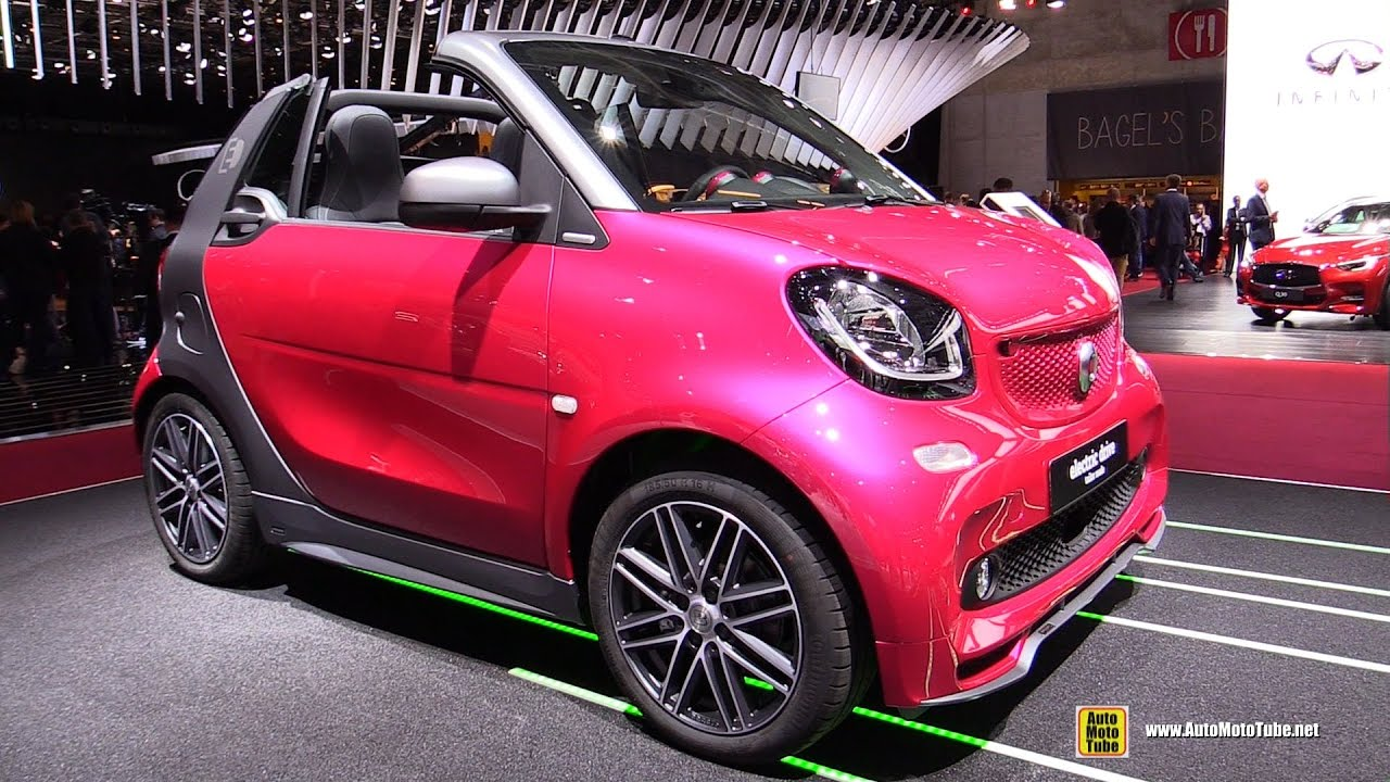 2017 smart fortwo cabrio electric drive exterior and. Black Bedroom Furniture Sets. Home Design Ideas