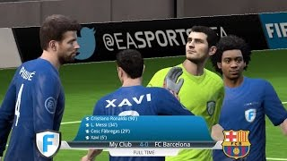 EA SPORTS FIFA (FIFA16 Mobile) Gameplay : iPhone5s (2015.08.11)