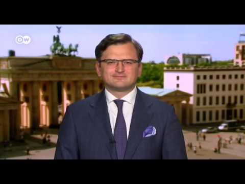 UkraineMFA: Foreign Minister Dmytro Kuleba interview for Deutsche Welle June 01, 2020.