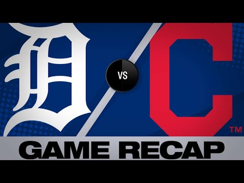 Civale earns 1st MLB win in 2-0 victory | Tigers-Indians Game Highlights 6/22/19