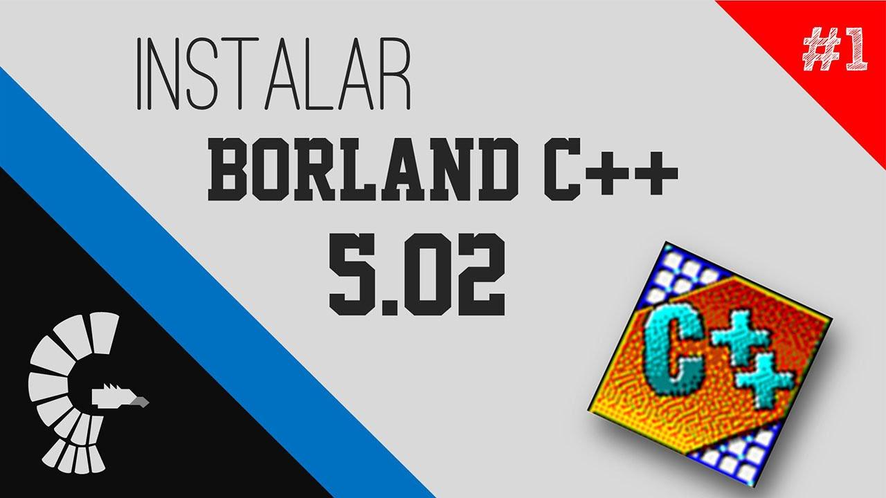 BORLAND C++ TÉLÉCHARGER