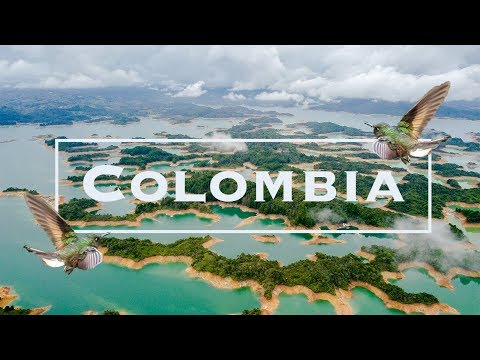 Colombia Travel Guide | Top 10 Things to Do in Colombia | 4K | Drone