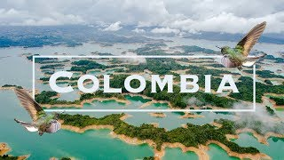 Colombia Travel Guide Top 10 Things to Do in Colombia 4K Drone