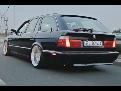 BMW E34 STANCED
