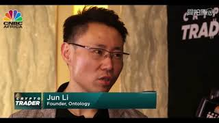 Li Jun, Founder of Ontology, on CNBC Crypto Trader at TOKEN2049 2019