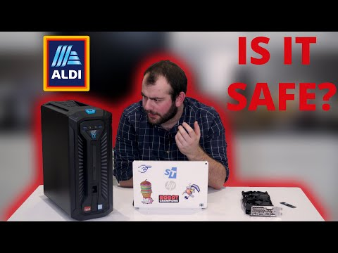 I Bought The ALDI Gaming PC So You Don't Have To! | Unboxing And Teardown