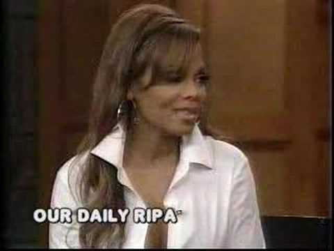 Janet Jackson on Regis and Kelly (October 12, 2007)