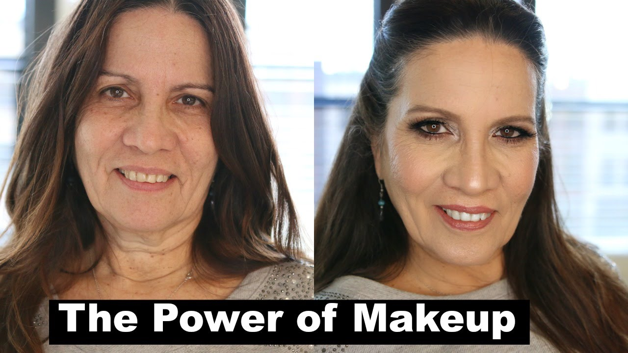 Power of makeup youthful makeup mother in law makeup tutorial power of makeup youthful makeup mother in law makeup tutorial for mature skin youtube baditri Choice Image