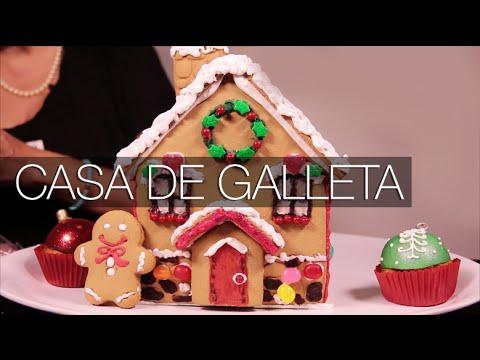 Como decorar una casa de galletas para navidad youtube for Decorar casa minimalista navidad