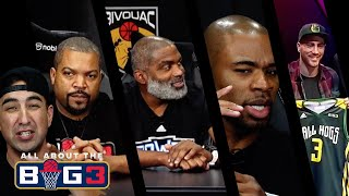 ALL ABOUT THE BIG3 | Episode 01 | Ice Cube, Corey Maggette, Cuttino Mobley