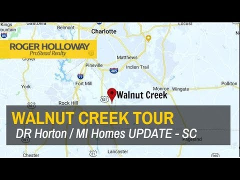 Walnut Creek New Homes for Sale - UPDATE Tour