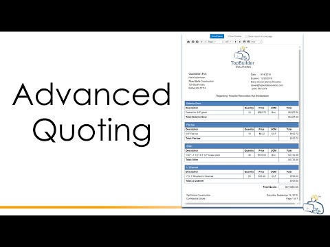 Advanced Quoting OVerview