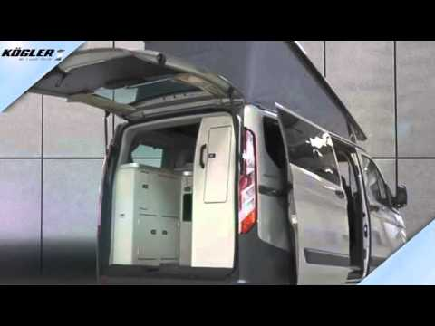 ford transit custom nugget aufstelldach youtube. Black Bedroom Furniture Sets. Home Design Ideas