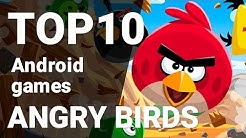 Top 10 Angry Birds Games for Android [1080p/60fps]