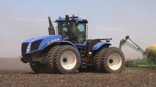 Galusha Farm -  New Holland T9.390 Tractor on 5-16-2013