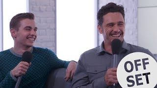 James and Dave Franco once had a catfight - literally! | The Disaster Artist interview