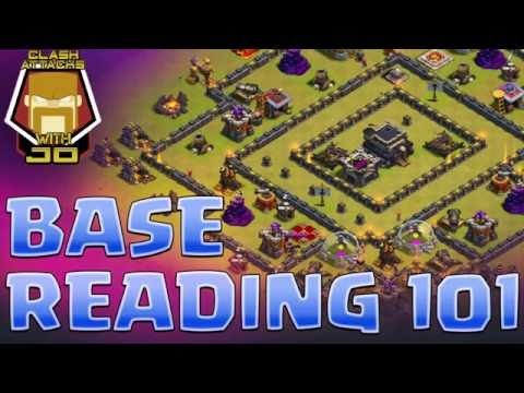 Base Reading 101 | TH 9 Attack Planning | Clash of Clans