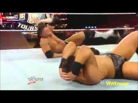 The Miz Vs Alex Riley WWE Championship Tournament Round 1 7/18/11