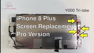 iPhone 8 Plus Screen Replacement and Waterproofing | Pro Version