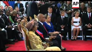 Inauguration of Michel Martelly as Haitian president
