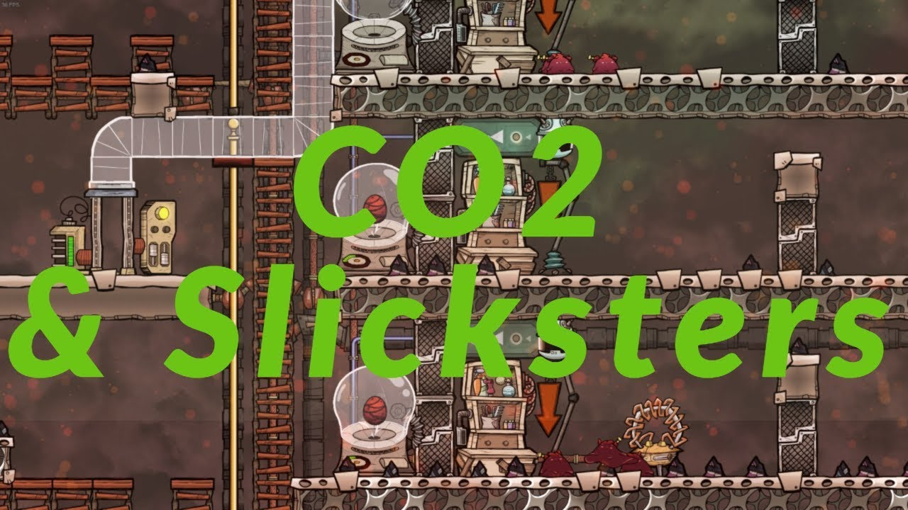 QOL Mk3, 21 CO2 Disposal and Slickster farming : Oxygen not included