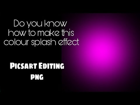 picsart editing tutorial l colour light effect l create your own