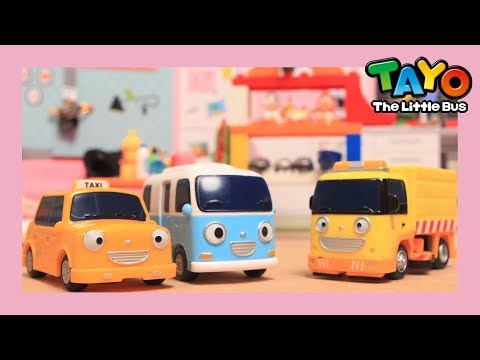 Tayo Neatly neatly stack stack! l Tayo Toys Story l Tayo the Little Bus l Tayo Toy Play Show