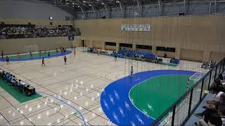2018IH 女子ハンドボール 3回戦 洛北(京都府)vs 四日市商(三重県)