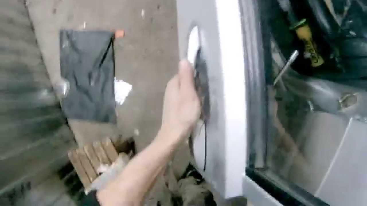 [BR-GAVS] Как правильно установить евроручку в водительскую дверь ваз 2114 за 5 сек.)))))