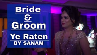 bride groom couple salsa dance performance ye raten  by sanam aao twist karen Choreographer Sushant