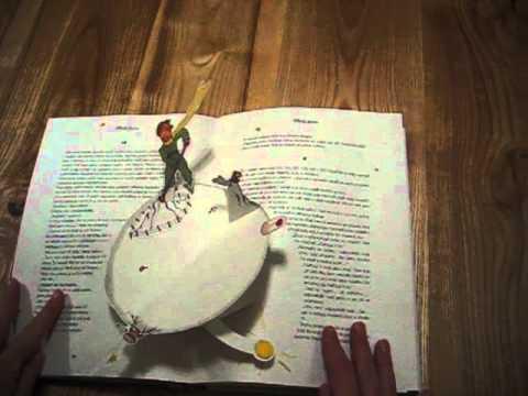 malý princ albatros velká obrazová kniha