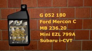 Вариаторное масло CVT Fluid Clear (G052 180, MB 236.20, Subaru Lineartronic CVTF)