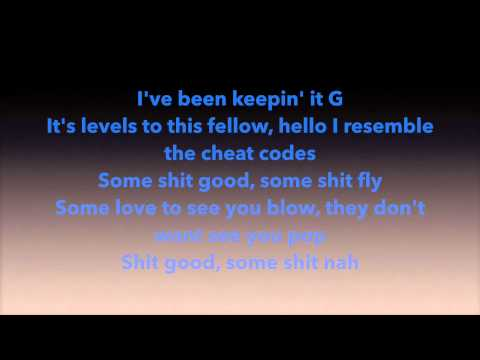 Wale- The Helium Balloon (lyrics)