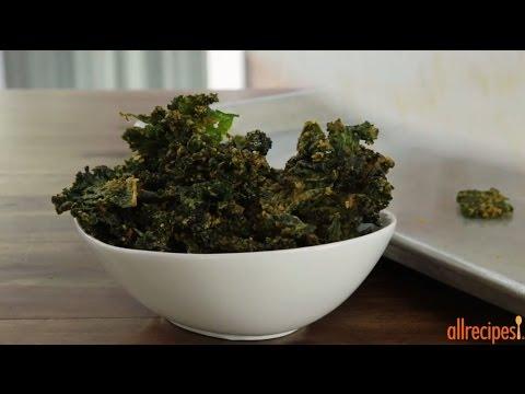 How to Make Cheesy Kale Chips | Snack Recipes | Allrecipes.com