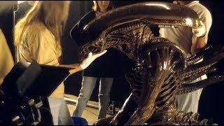 ALIEN RESURRECTION Alien Warrior Suit Tests ADI BTS YouTube Videos