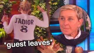 ellen making celebrities feel uncomfortable part 3