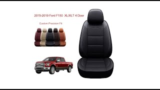 Oasis Auto Ford F-150 seat cover installation-Custom Fit